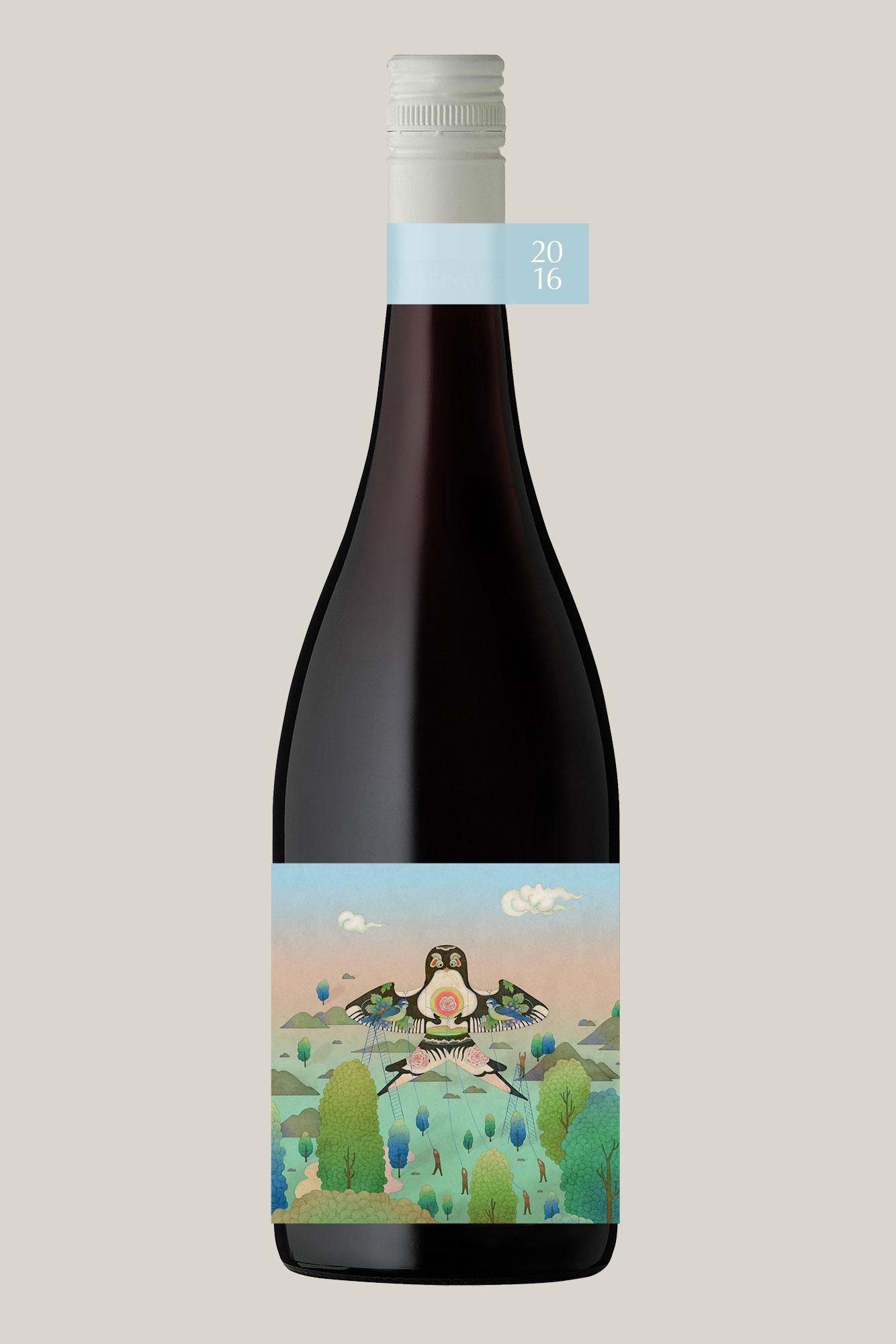 Soaring Kite 2016 Shiraz Wine Bottle