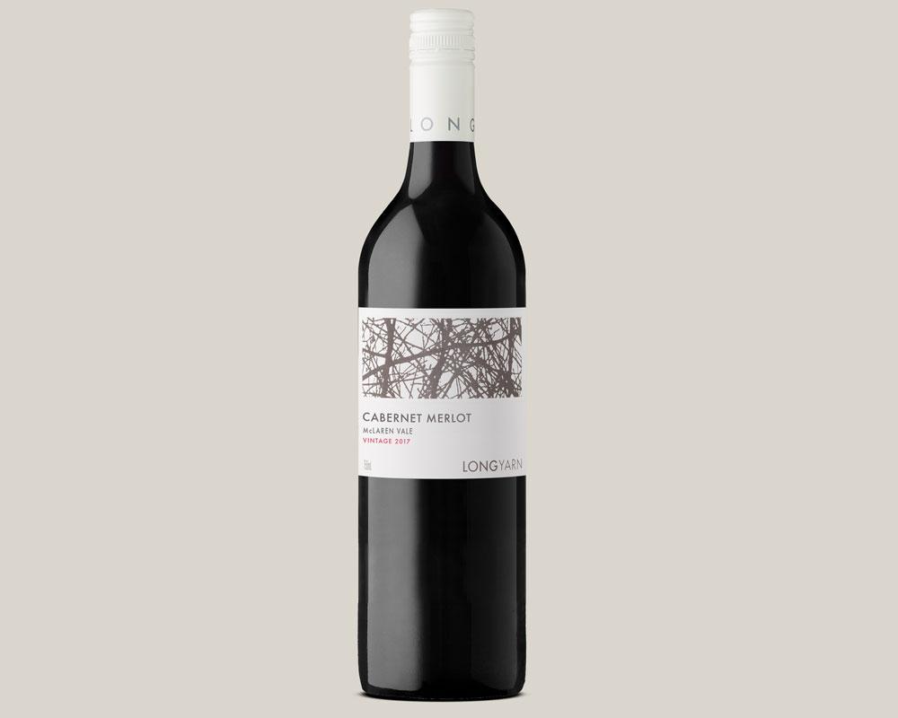 Long Yarn 2017 McLaren Vale Cabernet Merlot by Loom Wine